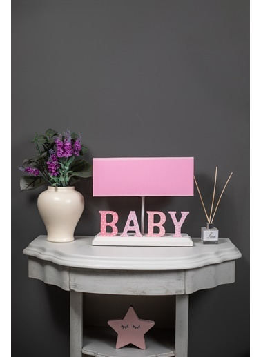 Misto Home Abajur Baby Pembe